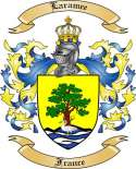 Laramee Family Crest from France