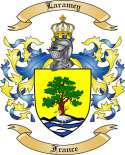 Laramey Family Coat of Arms from France