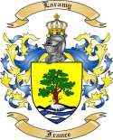 Laramy Family Coat of Arms from France