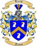 Larew Family Coat of Arms from France