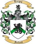 Largey Family Coat of Arms from Ireland