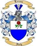 Larosa Family Crest from Italy2