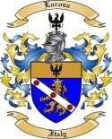 Larosa Family Crest from Italy