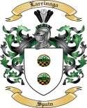 Larrinaga Family Crest from Spain