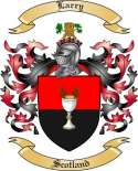 Larry Family Crest from Scotland