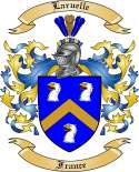 Laruelle Family Crest from France