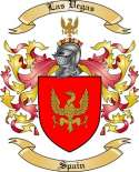 Las Vegas Family Coat of Arms from Spain2