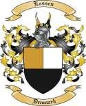 Lassen Family Crest from Denmark