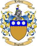 Lathem Family Crest from England