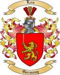 Lau Family Coat of Arms from Germany2