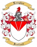 Laugher Family Crest from Scotland