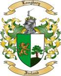 Laughery Family Coat of Arms from Ireland