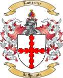 Laurence Family Coat of Arms from Lithuania