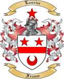 Laurice Family Coat of Arms from France
