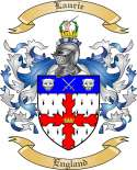 Laurie Family Crest from England2