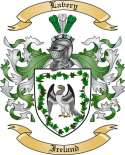Lavery Family Crest from Ireland