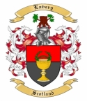 Lavery Family Crest from Scotland
