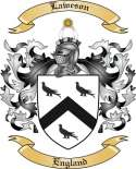 Laweson Family Coat of Arms from England