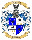 Lawhead Family Coat of Arms from Scotland