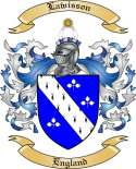 Lawisson Family Crest from England2