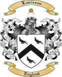 Lawisson Family Crest from England