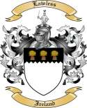 Lawless Family Crest from Ireland