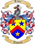 Lawn Family Crest from England