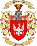 Lawniczak Family Crest from Poland