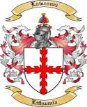 Lawrance Family Crest from Lithuania