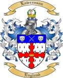 Lawrenson Family Crest from England2