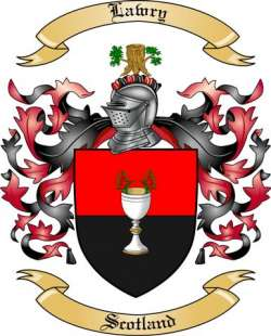 Lawry Family Coat of Arms from Scotland
