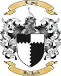 Layng Family Crest from Scotland