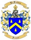 LeFaivre Family Crest from France