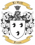 Le Goff Family Crest from France
