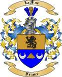 Le Mar Family Crest from France