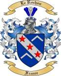 Le Rochon Family Crest from France