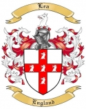 Lea Family Crest from England2