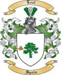 Leal Family Coat of Arms from Spain