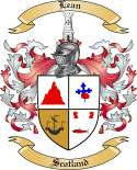 Lean Family Coat of Arms from Scotland