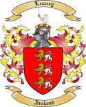Leaney Family Crest from Ireland