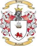 Leary Family Coat of Arms from Ireland