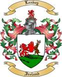 Leavey Family Coat of Arms from Ireland