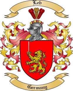 Leb Family Coat of Arms from Germany2