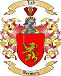 Leb Family Crest from Germany2