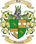 Leb Family Crest from Germany