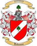 Lebanon Family Crest from Lebanon