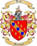 Lech Family Crest from Scotland