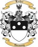 Lecher Family Coat of Arms from Germany2