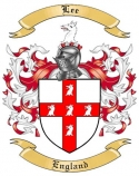 Lee Family Coat of Arms from England2