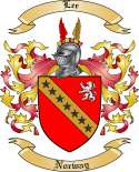 Lee Family Coat of Arms from Norway